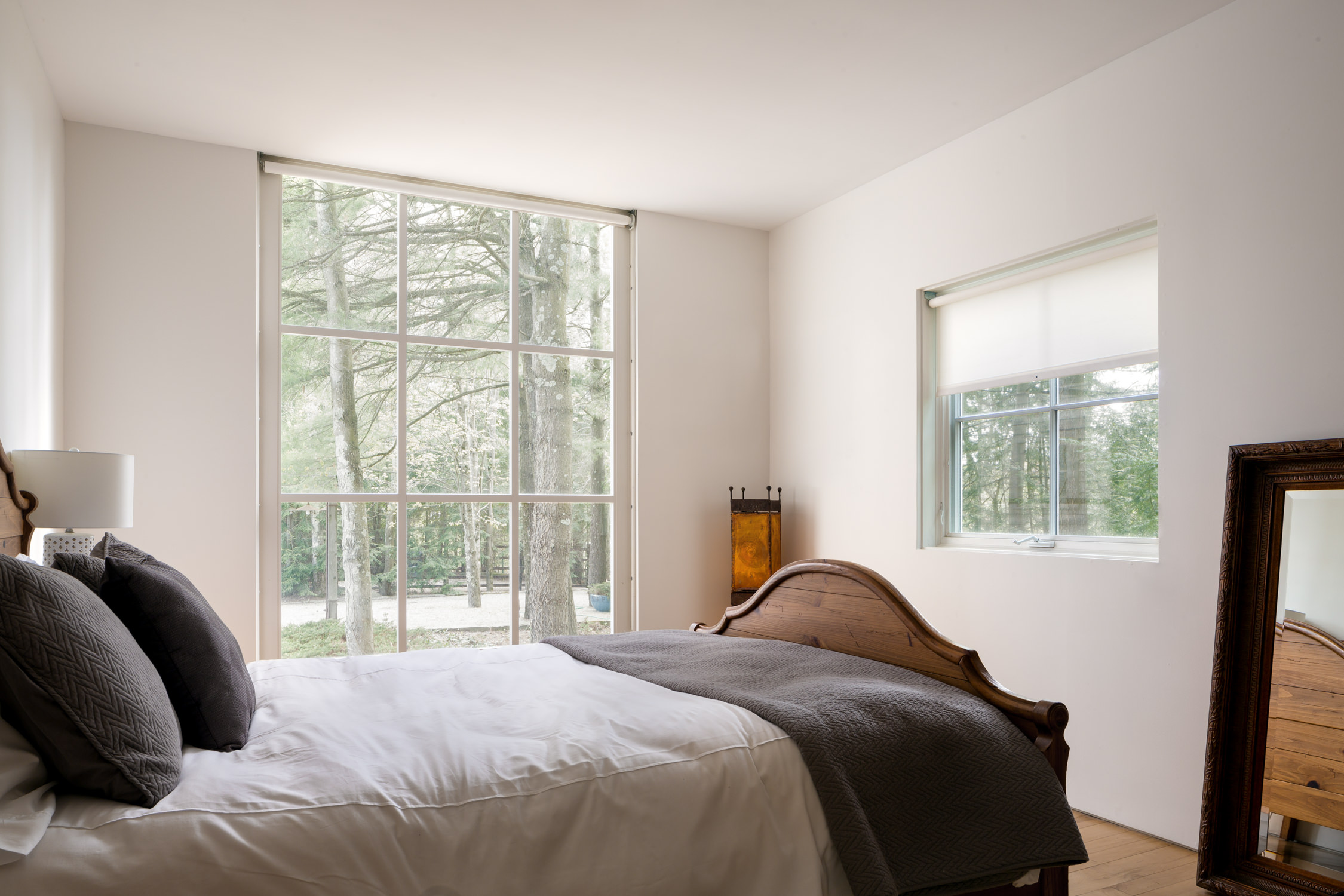 A guest bedroom by Vermont professional photographer Stina Booth