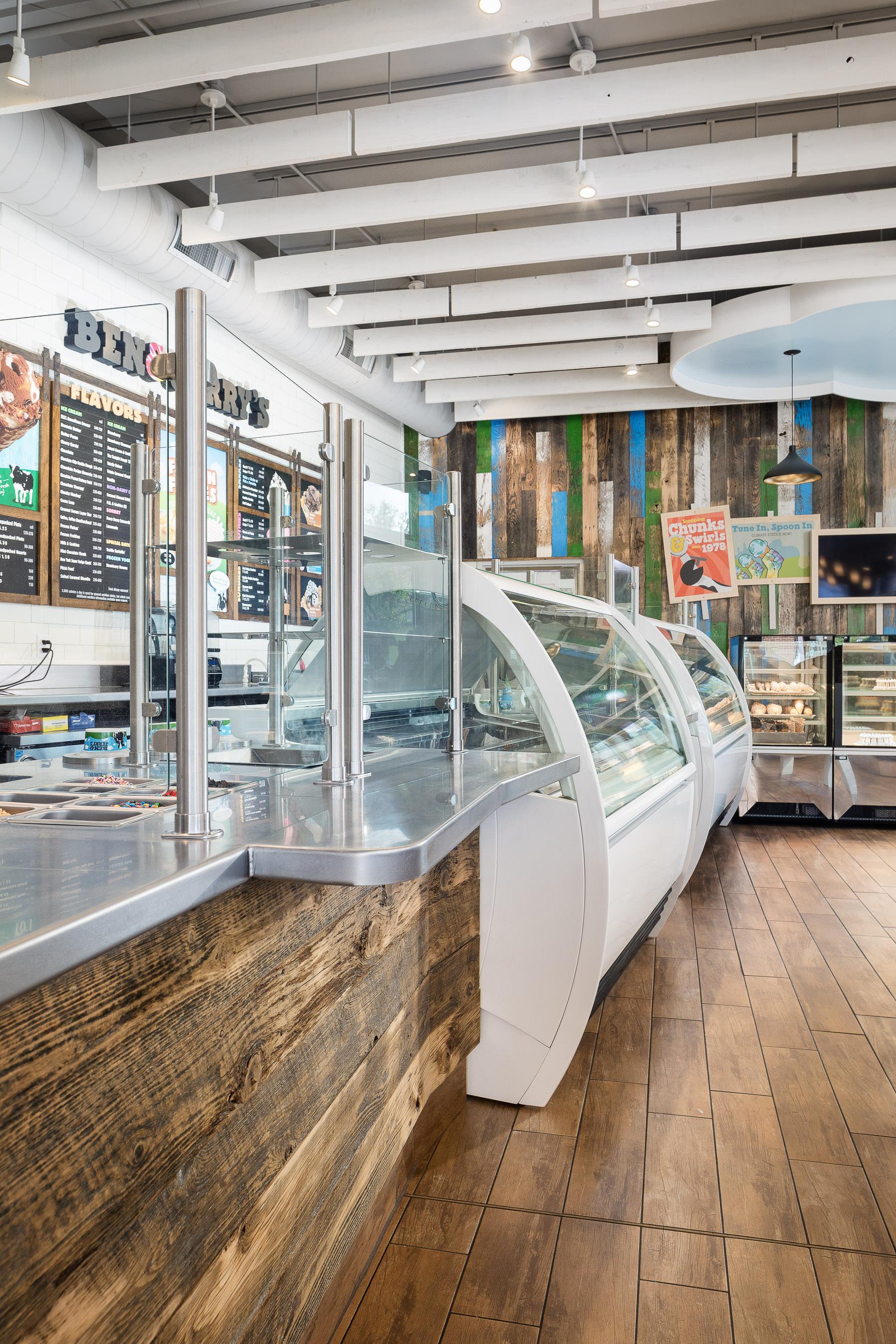 interior architecture ben jerry s scoop shop burlington vermont